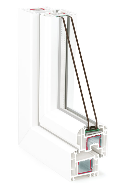 Fensterprofil System Brillant Design AD